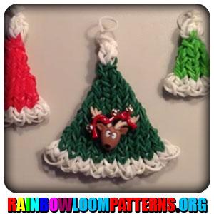 rainbow loom charms rainbow loom santa hat santa hat charmRainbow Loom Santa Hat