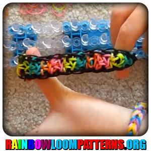 Rainbow Loom Bracelets Rainbow Loom Patterns Rainbow Loom