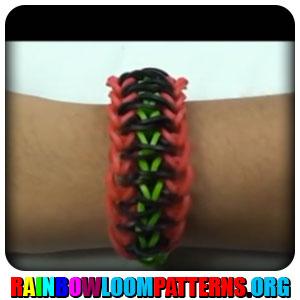 single rhombus rainbow loom  Double Single Rainbow Loom