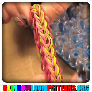 loom band written instructions