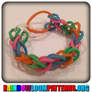 single rhombus rainbow loom  Rainbow Loom Bracelets Single ...